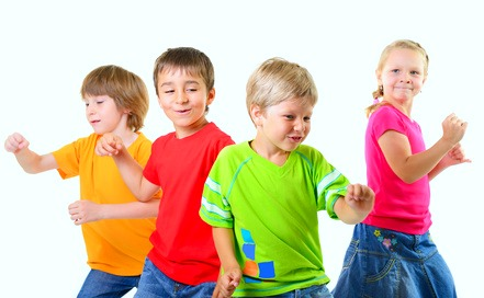 baile niños